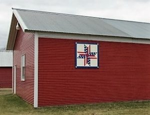 Stars and Stripes Barn Quilt