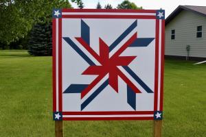 Patriotic Pinwheel 2